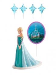 Kit de decoraciones torta Frozen™ Elsa™