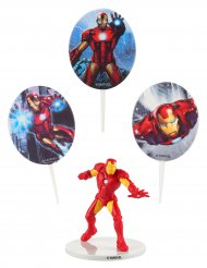 Kit de decoraciones torta Iron Man™