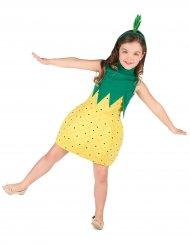 Disfraz vestido piña niña