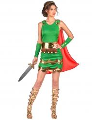 Disfraz soldado romano mujer