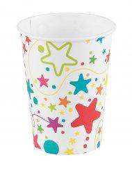 6 Vasos Multicolor 25 cl
