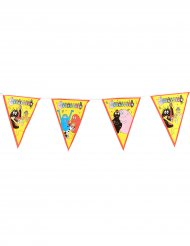 Guirlanda banderines Barbapapá™ 270 cm