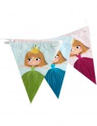 Guirlanda banderines princesa 270 cm