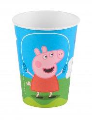 6 Vasos de cartón Peppa Pig™