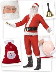Kit disfraz Papá Noel adulto