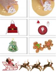 Kit pastelero de Navidad