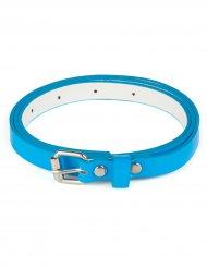 Cinturón azul fosforito adulto