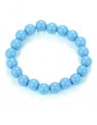 Pulseras perlas azules adulto
