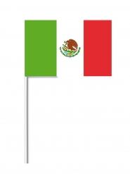 Bandera de papel México 14x21 cm