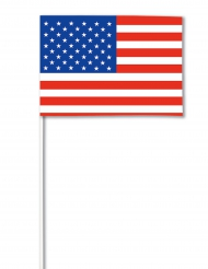 Bandera papel USA 14 x 21 cm