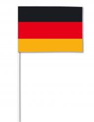 Bandera papel Alemania 14 x 21 cm