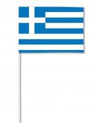 Bandera de papel Grecia 14 x 21 cm