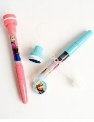 Bolígrafo sello y pompas de jabón Frozen™