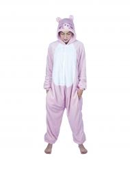 Disfraz mono cerdo kawaii adulto