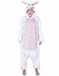 Disfraz de conejo kawai adulto