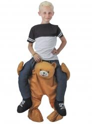 Disfraz niño sobre oso