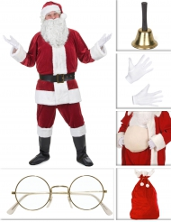 Pack disfraz Papá Noel lujo