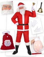 Kit disfraz Papá Noel clásico