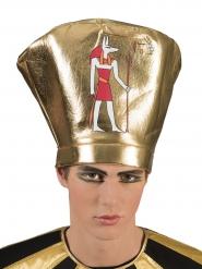 Cofia egipcio adulto dorado