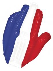 Mano inflable gigante hincha Francia 50 cm