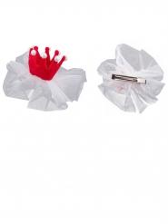 Mini horquilla princesa rosa 13 x 5 cm