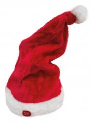Gorro rojo musical y animado Navidad