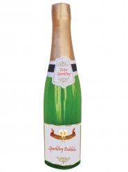 Botella de champán inflable 76 cm