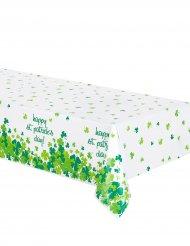 Mantel de plástico Happy St Patrick´s Day 129 x 213 cm