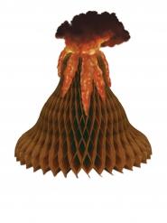Centro de mesa de papel alveolado volcán 38 cm