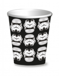 8 Vasos Stormtroopers™ 25 cl