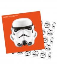 15 Servilletas Stormtroopers™ 33x33cm