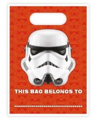 16 Bolsas de regalo Stormtrooper™ 16,5 x 23 cm