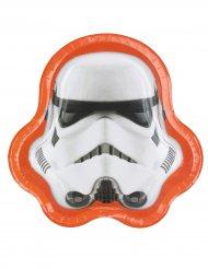 8 Platos cabeza de Stormtroopers™