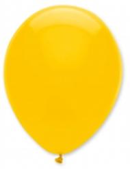 6 Globos amarillos 30 cm