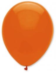 6 Globos naranja oscuro 30 cm