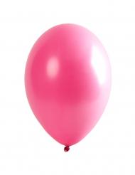 6 Globos rosa 30 cm
