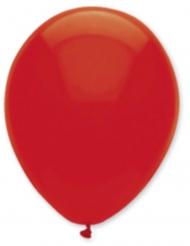 6 Globos rojo rubí 30 cm