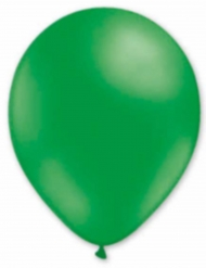 6 Globos verde 30 cm