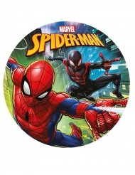 Disco de azúcar Spiderman™ 20 cm