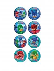 16 Mini discos de azúcar PJ Masks™ 3.4 cm