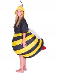 Disfraz abeja hinchable adulto
