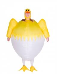 Disfraz inflable polluelo adulto