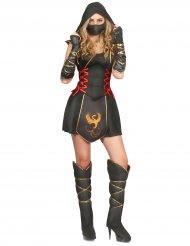 Disfraz ninja para mujer guerrera