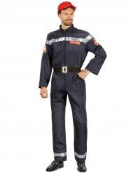 Disfraz bombero hombre