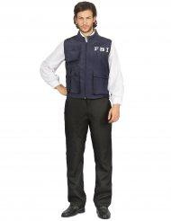 Disfraz policía FBI hombre