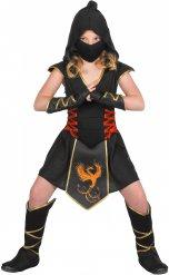 Disfraz ninja niña