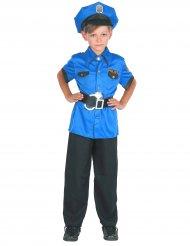 Disfraz polícia niño