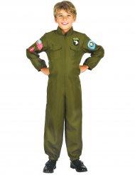 Disfraz piloto de cacería niño