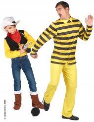 Disfraz pareja Dalton y Lucky Luke™ hombre niño