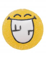 6 Imágenes de azúcar y gelatina Smiley World™ 3  cm